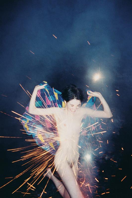 """Fireworks"", 2002 Courtesy Ryan McGinley and team (gallery, inc.) © Ryan McGinley."