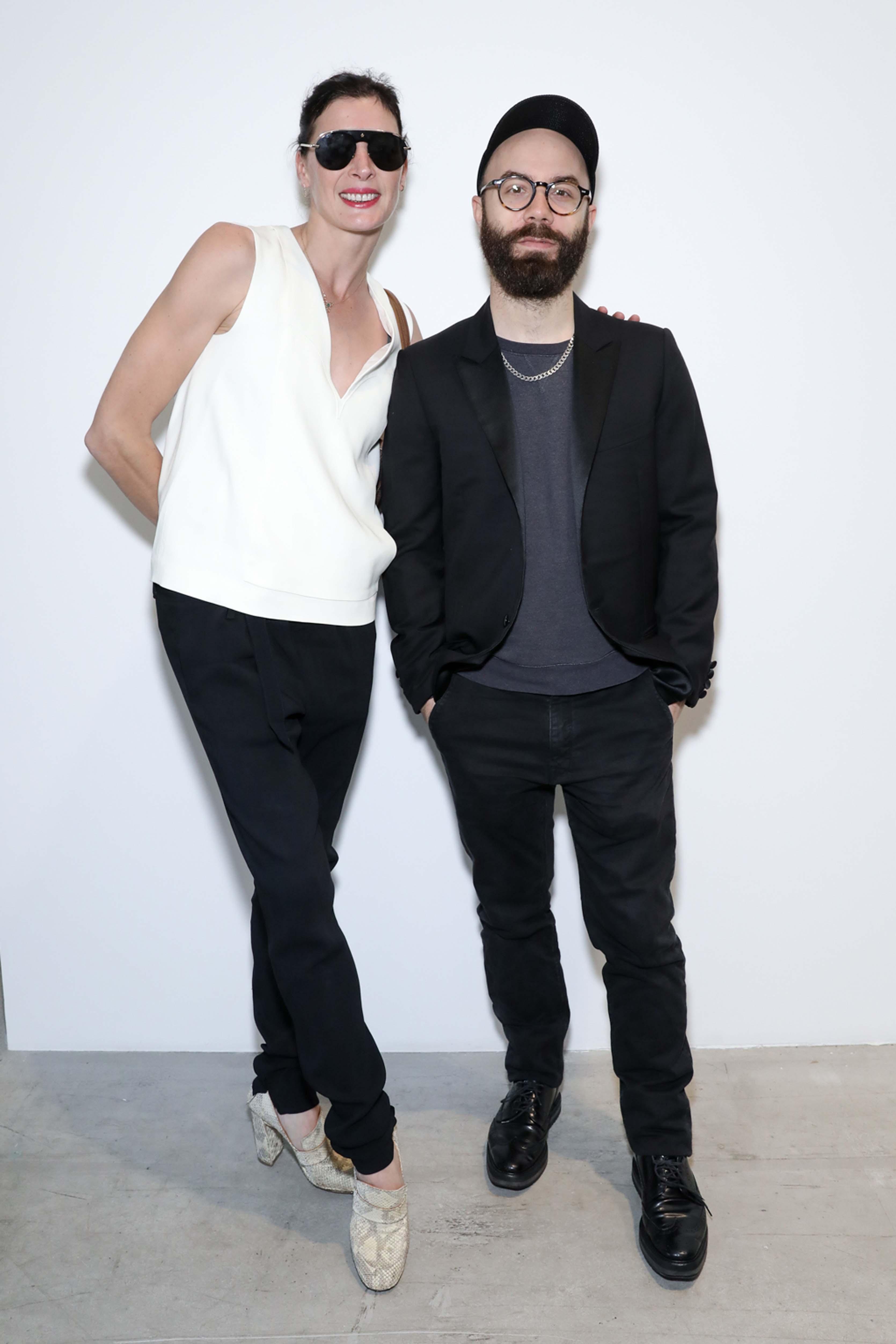 Marie-Agnès Gillot et Woodkid