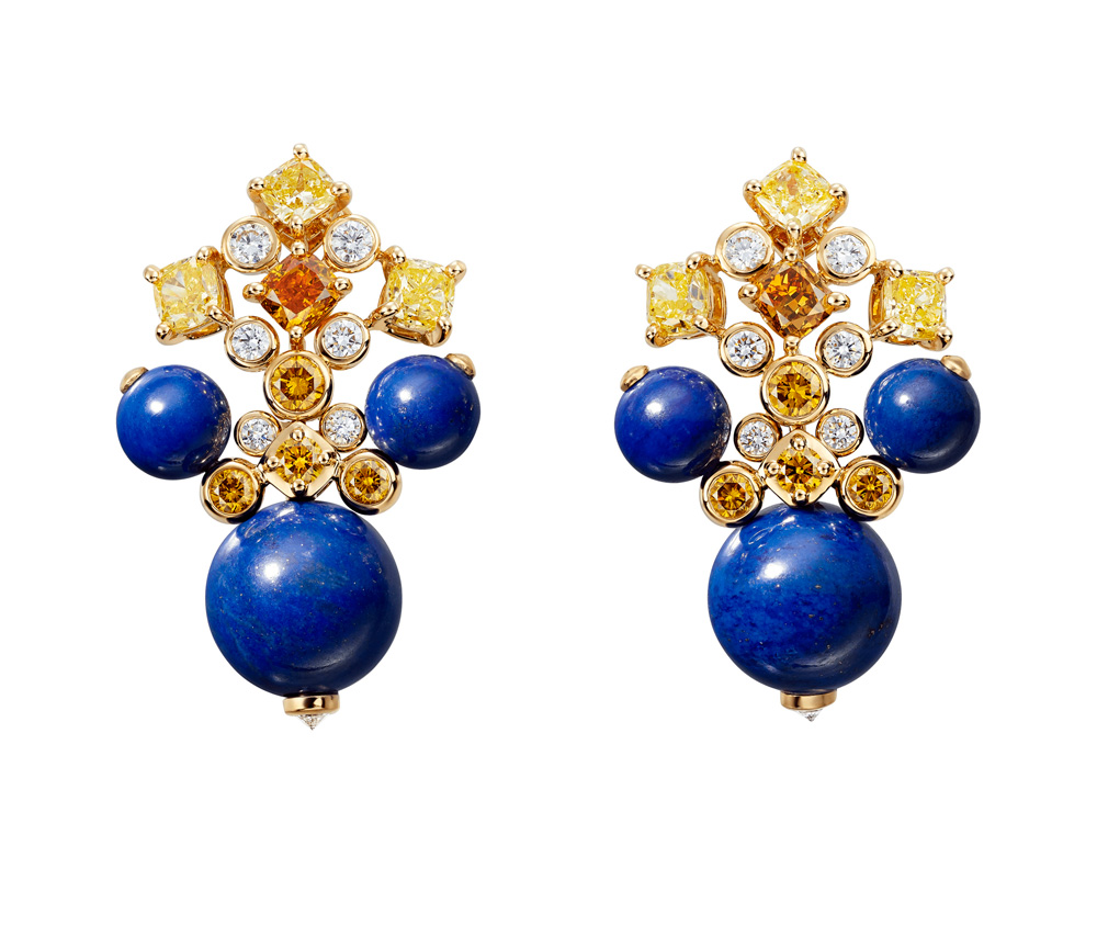 "Collection ""Magnitude"" de Cartier, Boucles d'oreilles Equinoxe"