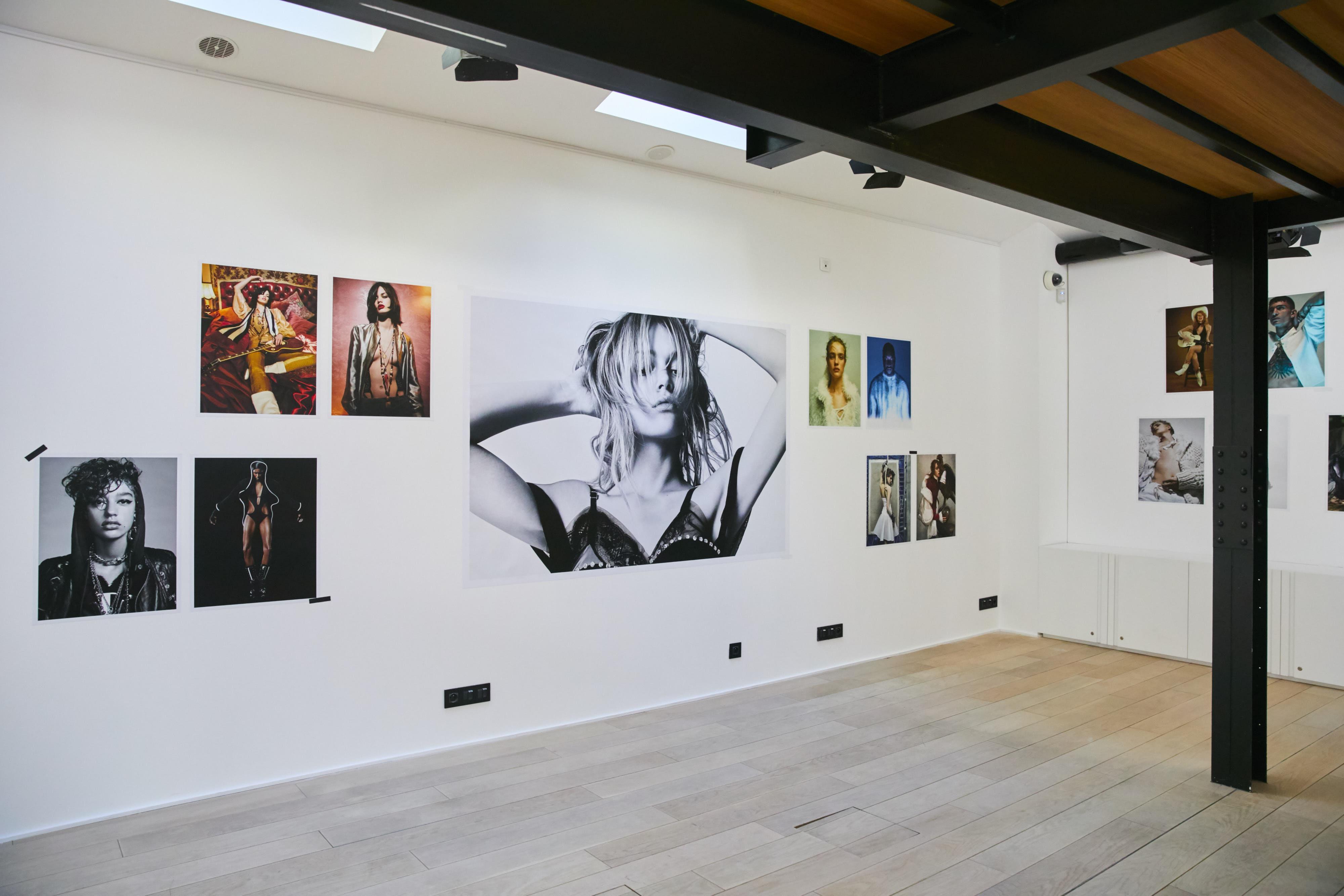 Vue de l'exposition Jean-Baptiste Mondino au Studio des Acacias. Photo : Valentin Le Cron