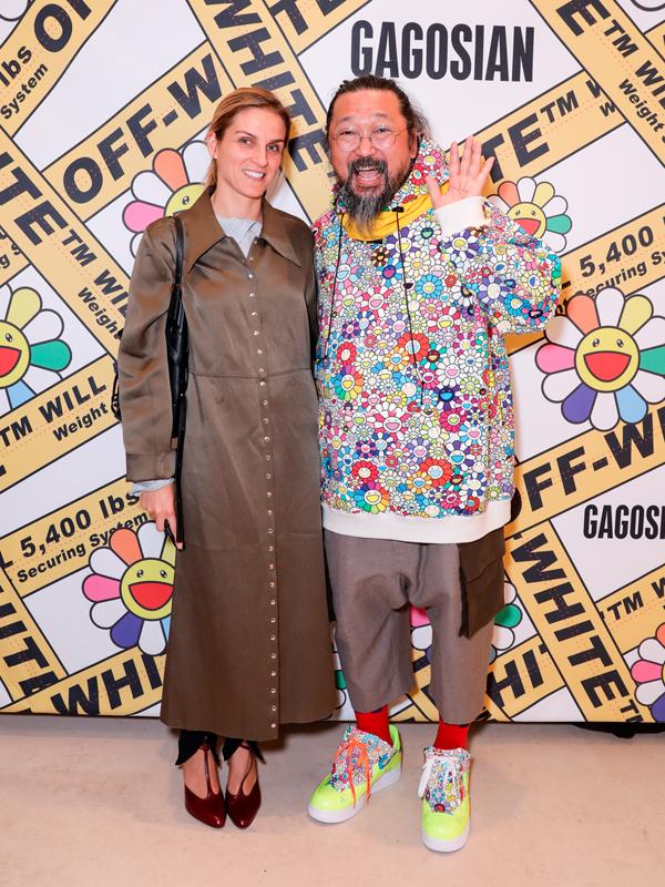 Gaia Repossi et Takashi Murakami