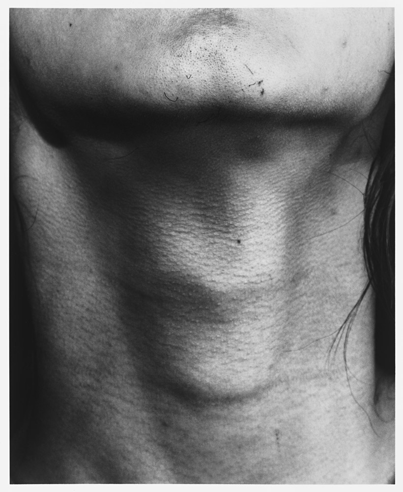 """Untitled (Neck)"", 2015, Sam Contis, © Sam Contis."