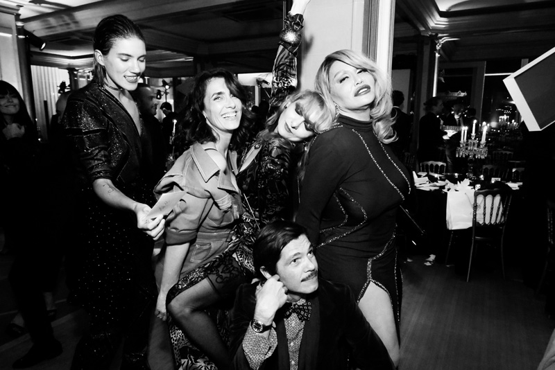 Tammy Glauser, Mademoiselle Agnes, Elie Top et Catherine Baba
