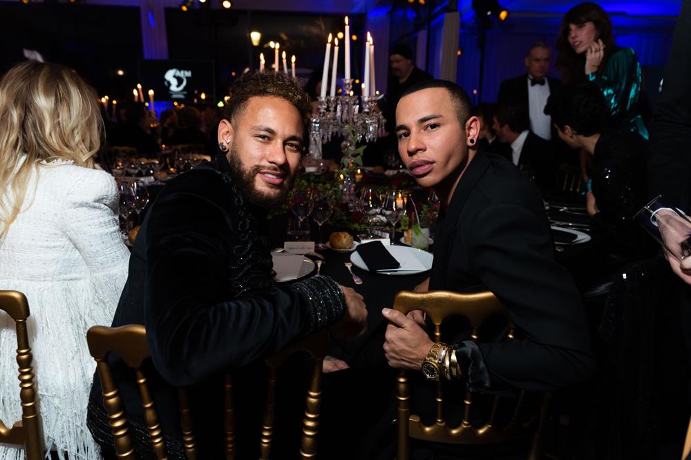 Neymar Jr. et Olivier Rousteing
