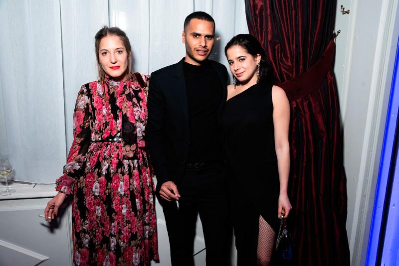Sophie Houdré, Danesh Domingo et Léa Zetlaoui
