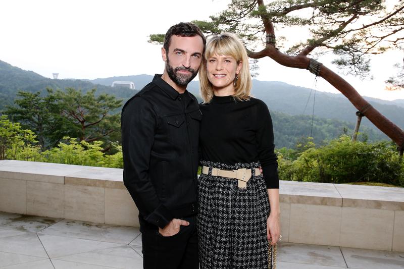 Nicolas Ghesquière et Marina Foïs