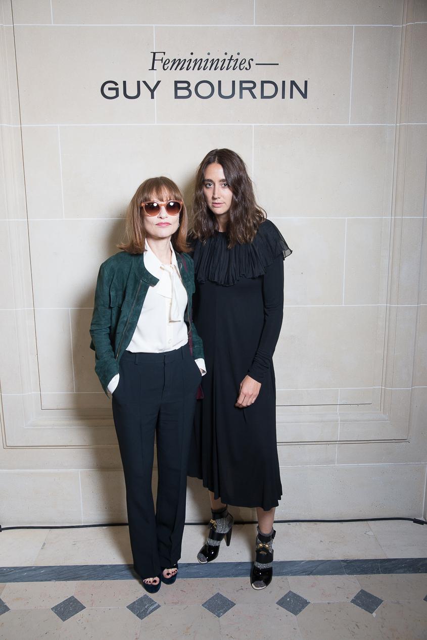 Isabelle Huppert et Natacha Ramsay-Levi