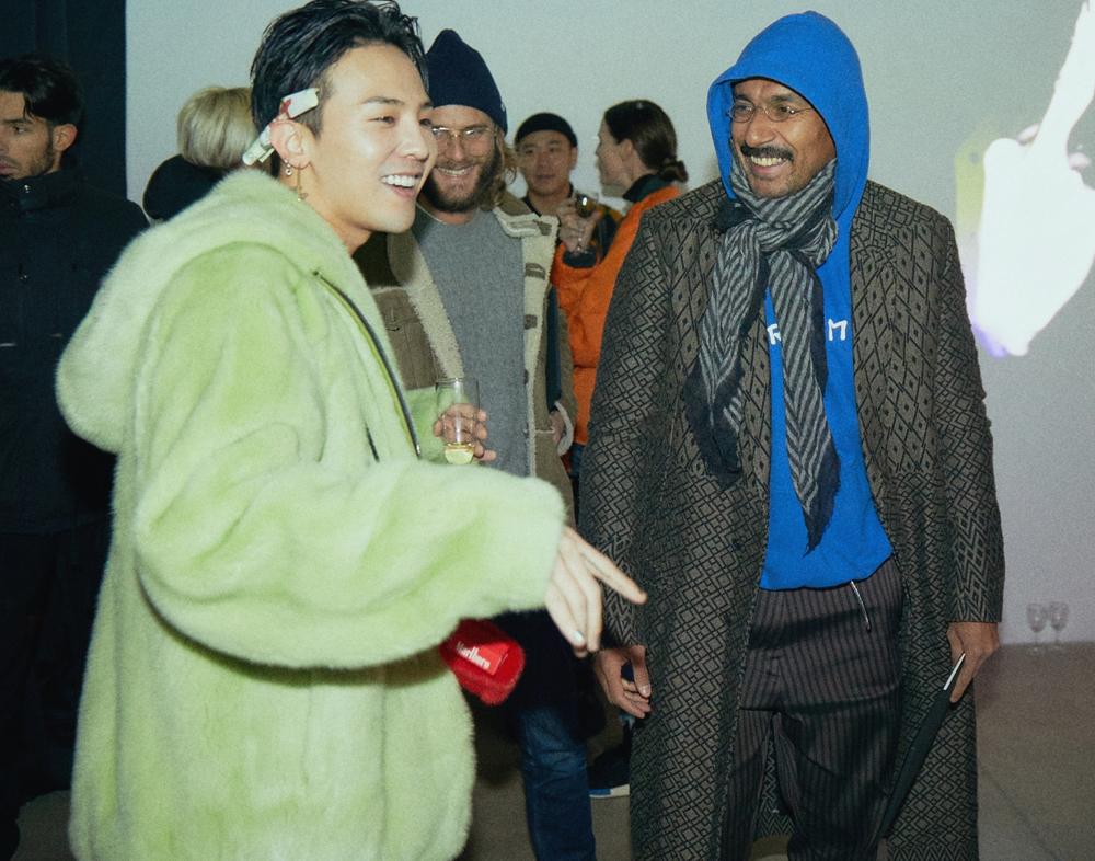 G-Dragon and Haider Ackermann.