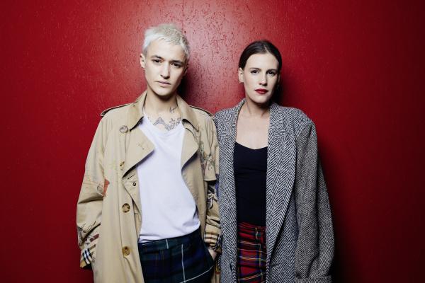 Agathe Mougin et Juliette Dol