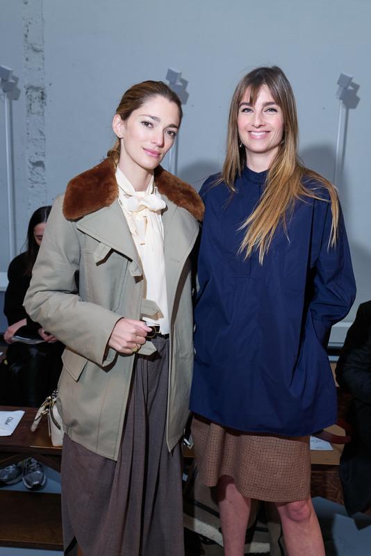 Sofia SAnchez de Betak et Sonia Sieff