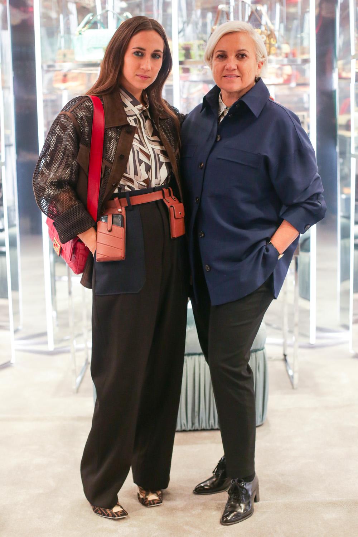 Delfina Delletrez et Silvia Venturini Fendi