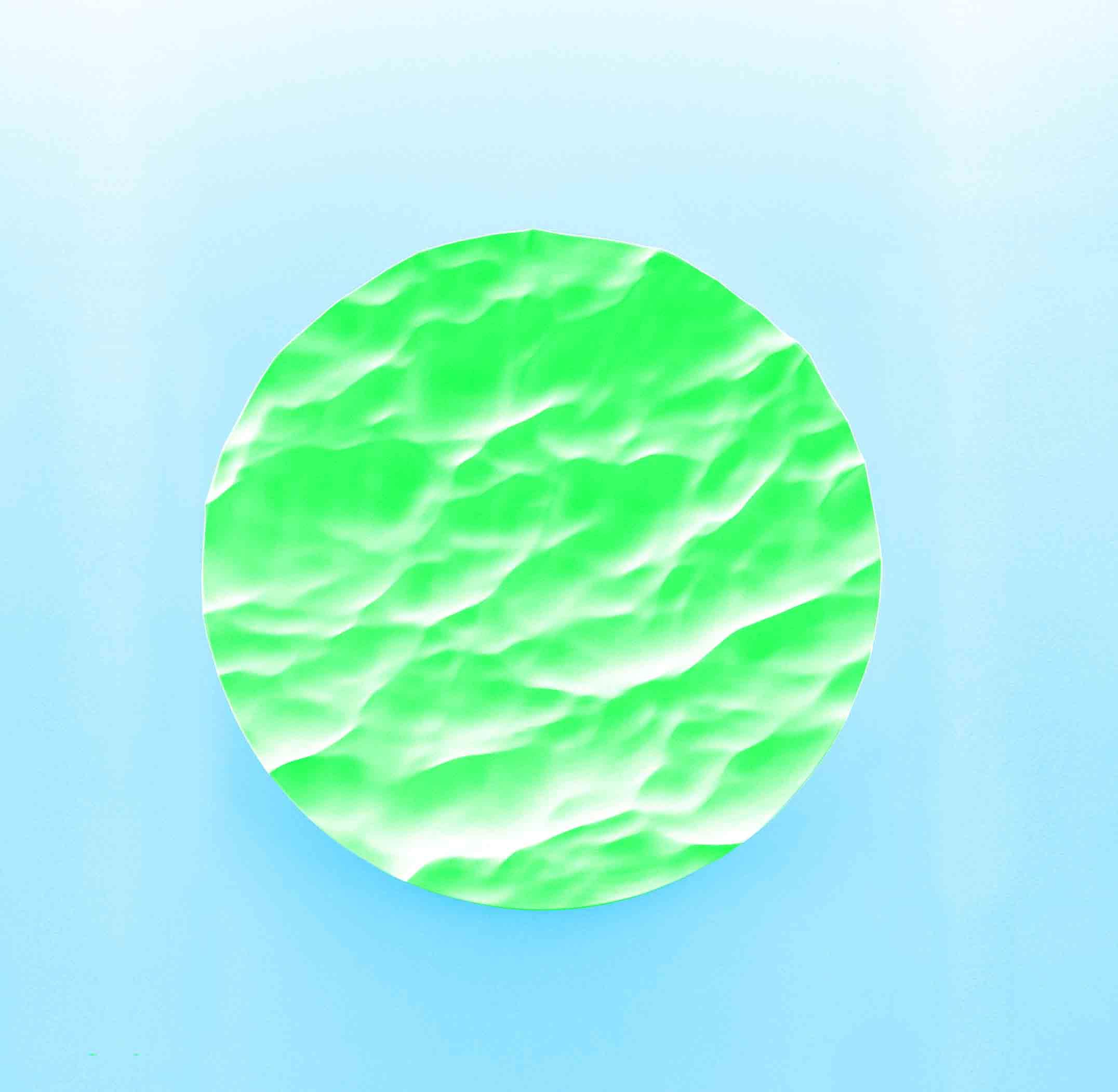 """""""Pocket Ocean"""", sculpture en faïence, design de Mathieu Lehanneur."""
