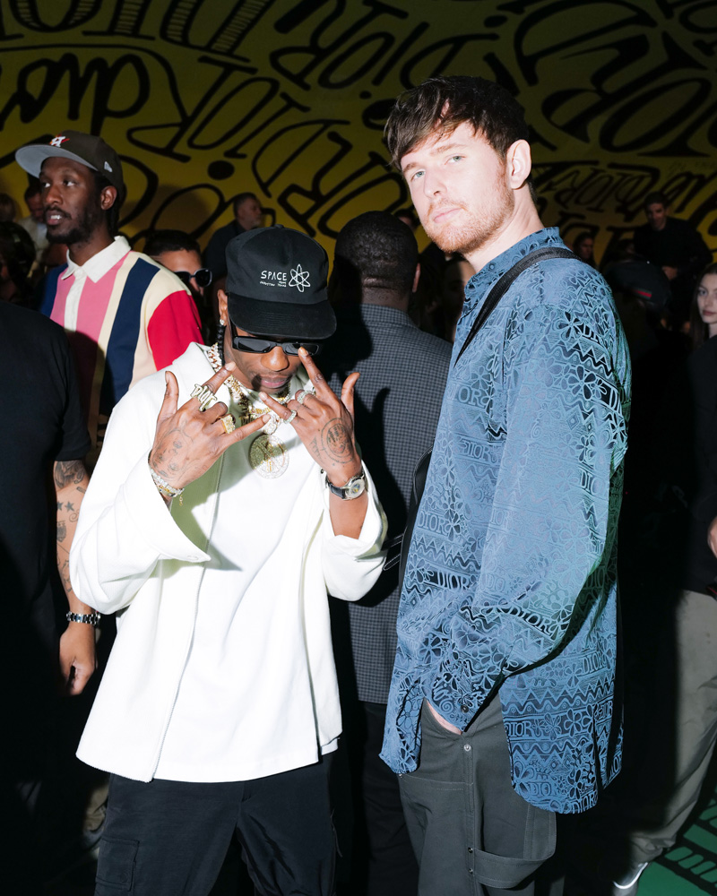 Travis Scott et James Blake