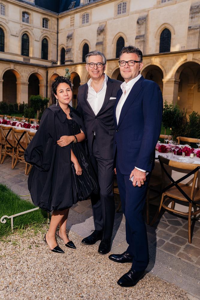 Simone Rocha, Michael Kliger et Roberto Eggs