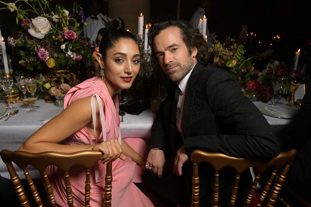 Golshifteh Farahani et Romain Duris