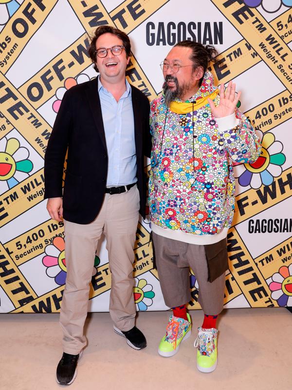 Jean-Olivier Despres et Takashi Murakami