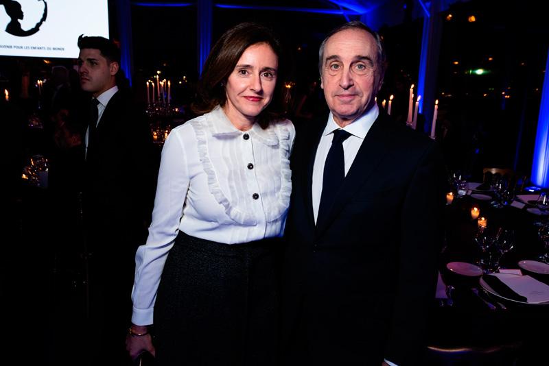 François Curiel et son épouse