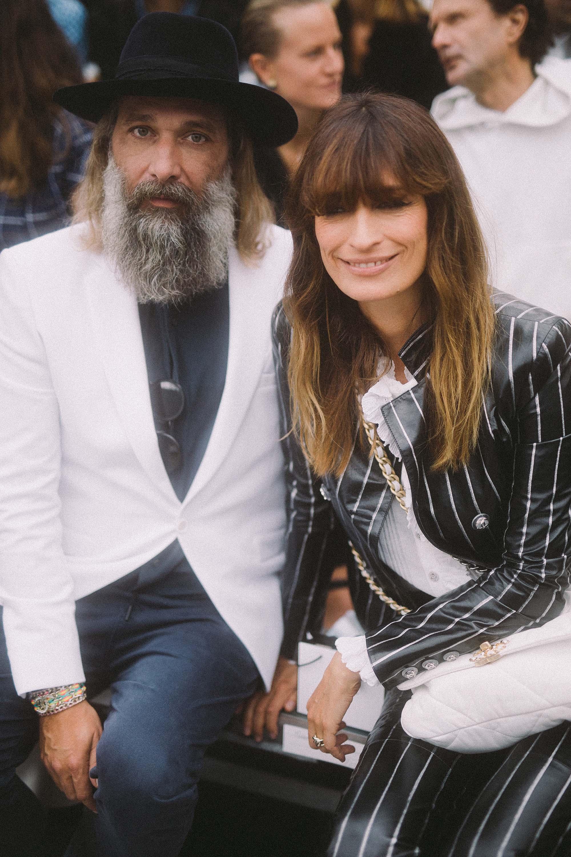 Sébastien Tellier et Caroline de Maigret