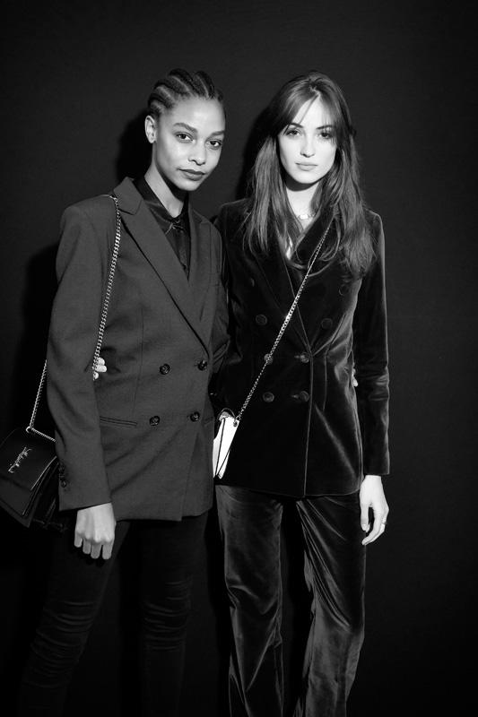 Karly Loyce et Camille Hurel