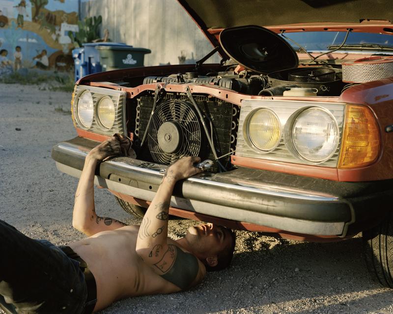 Justine Kurland, 280 Coup, 2012 Impression jet d'encre, 47 x 61 cm Courtesy de l'artiste / Mitchell-Innes & Nash, New York © Justine Kurland