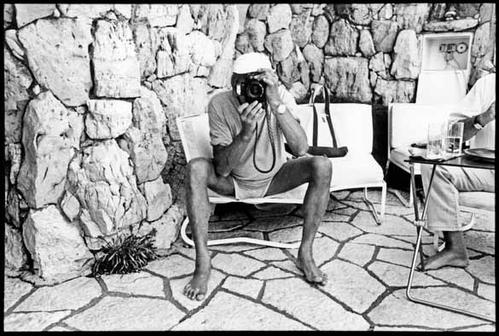 Crédit photo : Jean Pigozzi, Helmut Newton, Villa Dorane, Antibes, France 1993 © Jean Pigozzi