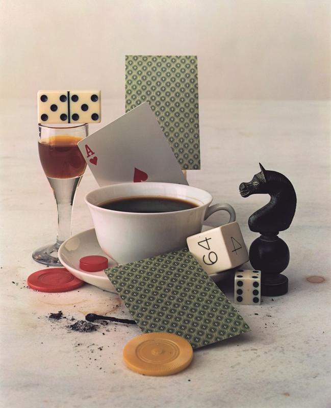 "Irving Penn, ""After-Dinner Games"", New York, 1947  Promised Gift of The Irving Penn Foundation © Condé Nast"