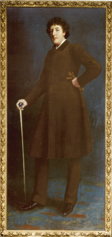 "Harper Pennington ""Oscar Wilde"" Robert Goodloe (1881). William Andrews Clark Memorial Library"