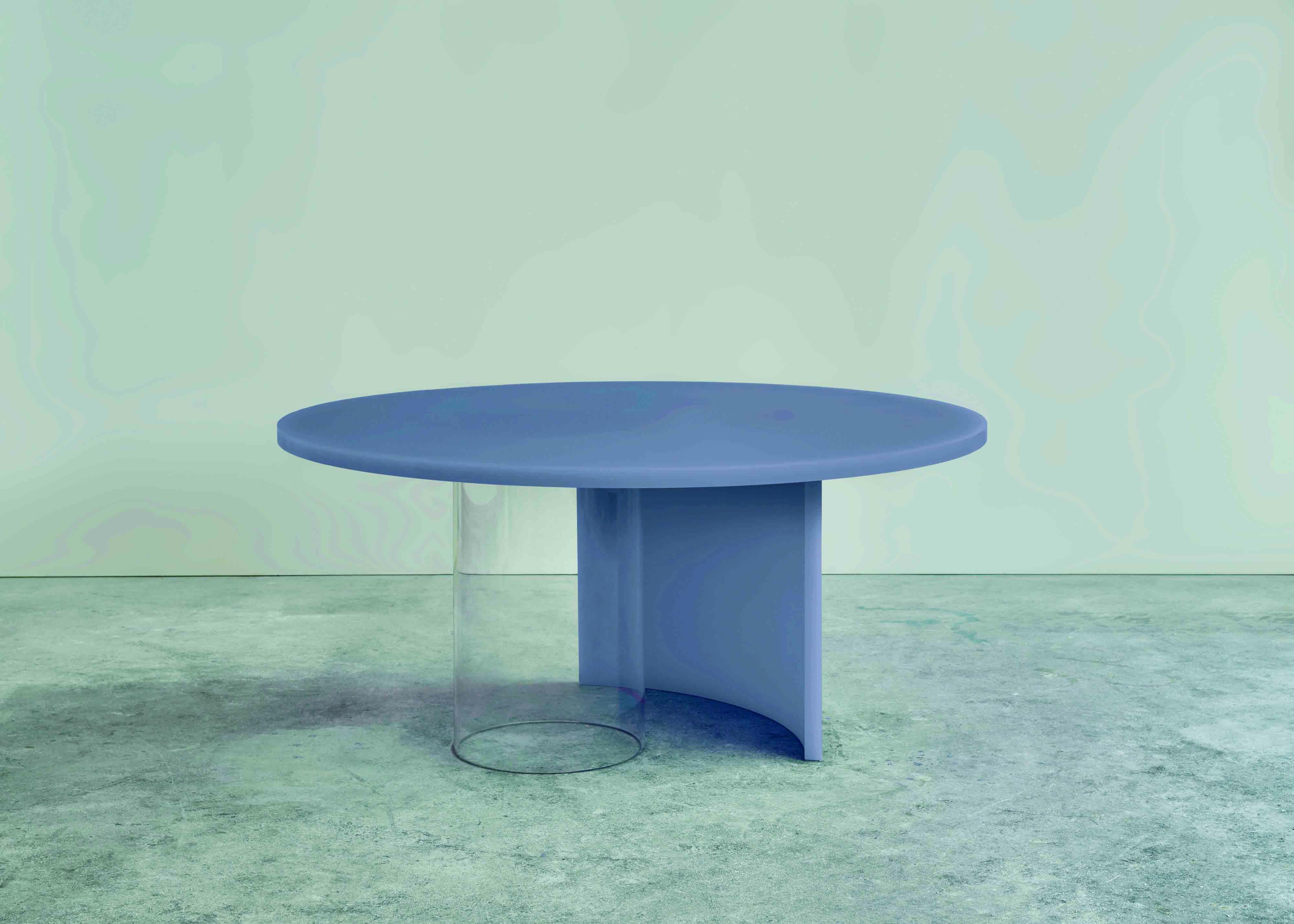 """""""Soap"""", table en résine et verre, design de Sabine Marcelis, Etage Projects."""