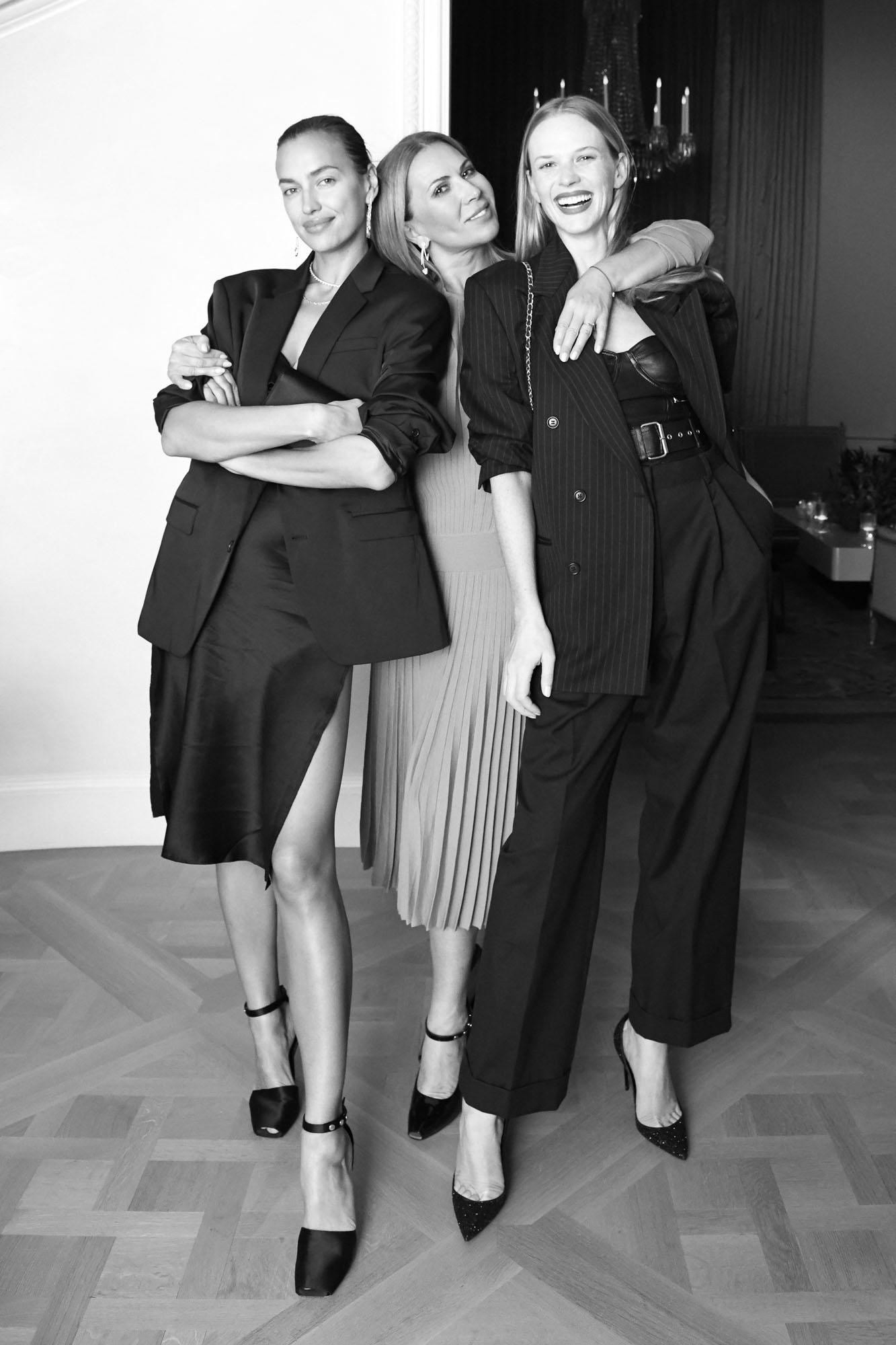Irina Shayk, Inga Rubenstein et Anne V