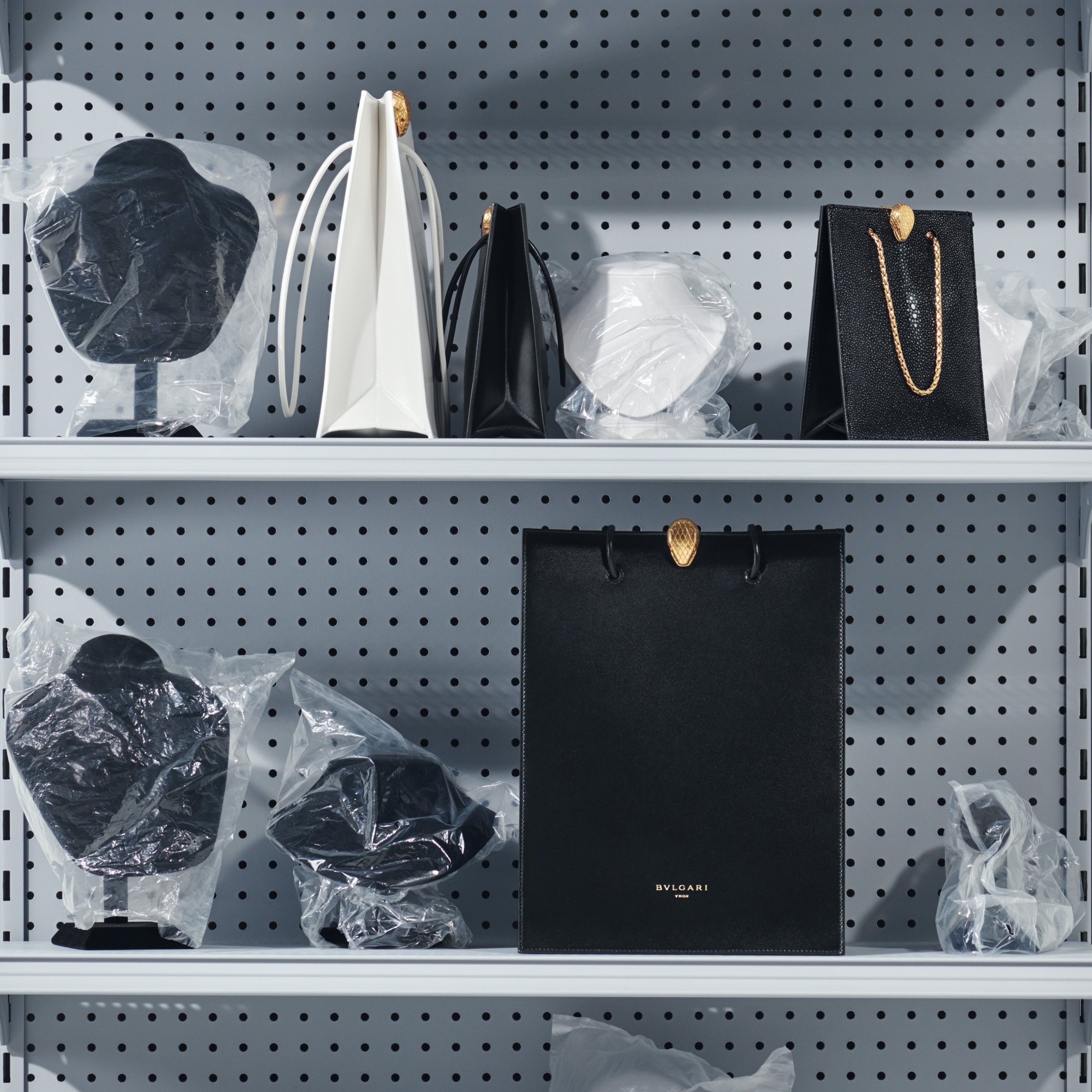 """Shopphing Tote"" - Serpenti Through the Eyes of Alexander Wang"