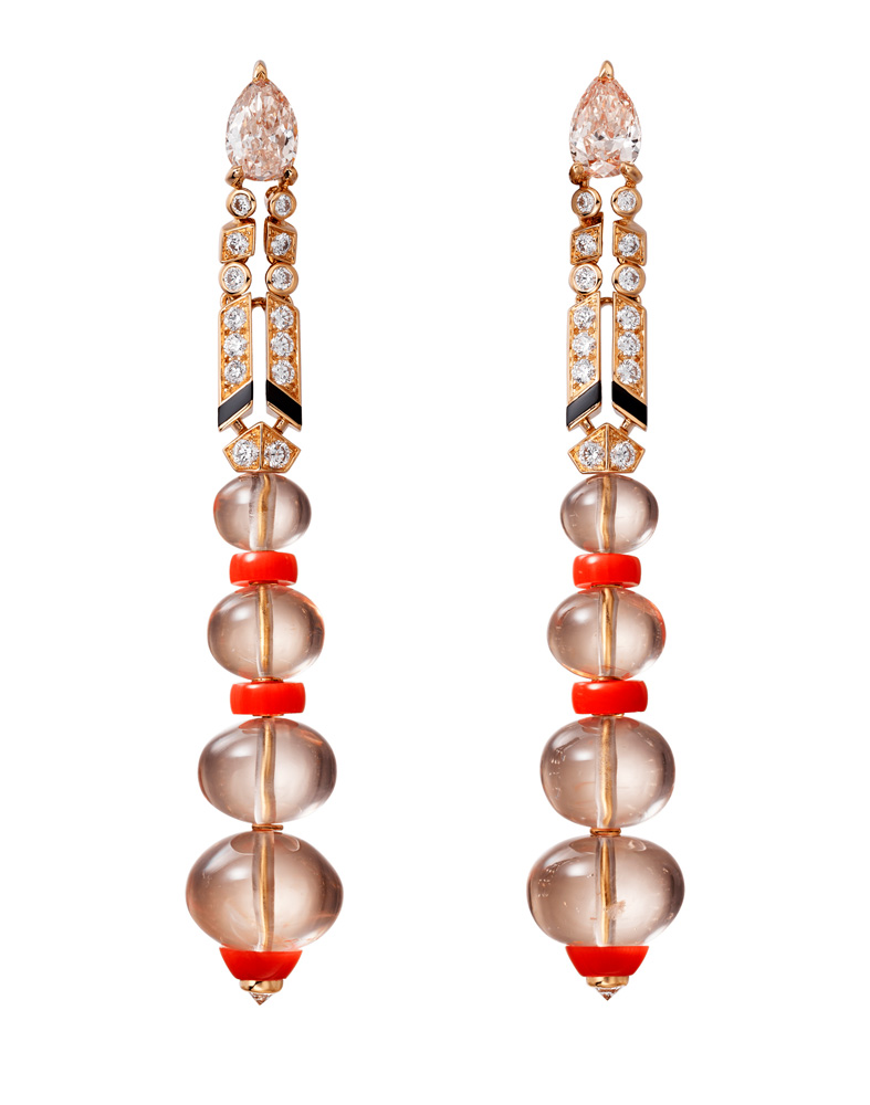 "Collection ""Magnitude"" de Cartier, Boucles d'oreilles Aphélie"