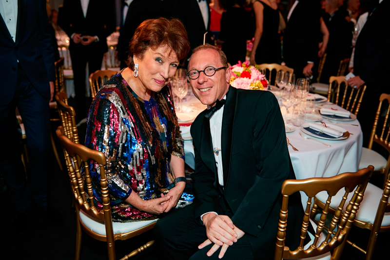 Roselyn Bachelot et Bertrand Perier