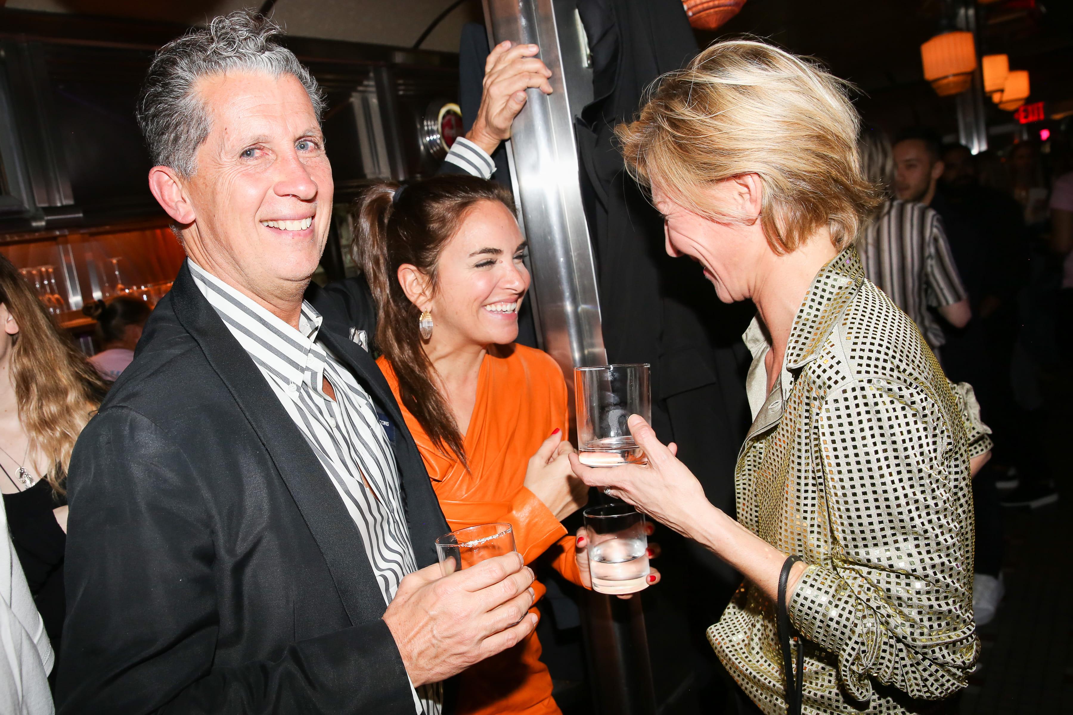 Stefano Tonchi, Laure Hériard-Dubreuil, Elizabeth Von Guttman