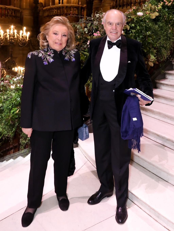 Maryvonne Pinault et Frédéric Mitterand.  ©Virgile Guinard