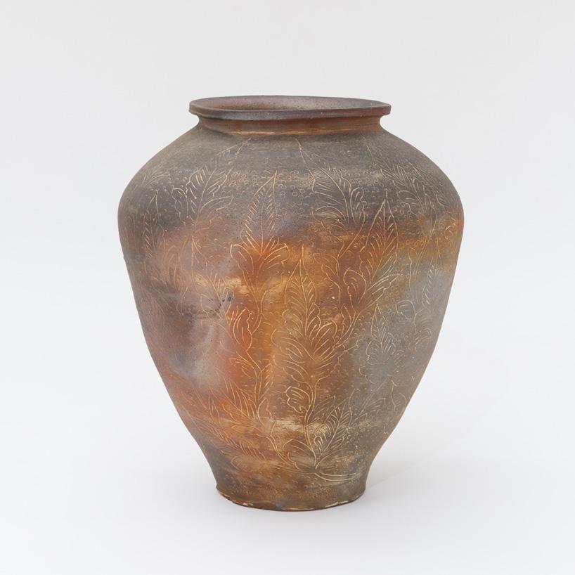Aso Kojima, Large Jar, 2014. 34 × 52.5 × 21 cm