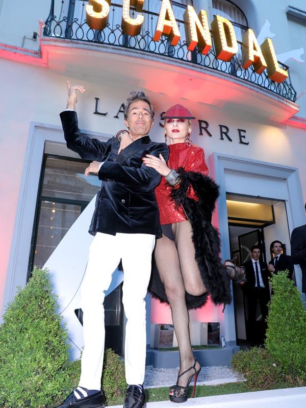 Vincent Darré et Catherine Baba