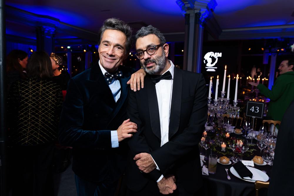 Vincent Darré et Joseph Ghosn