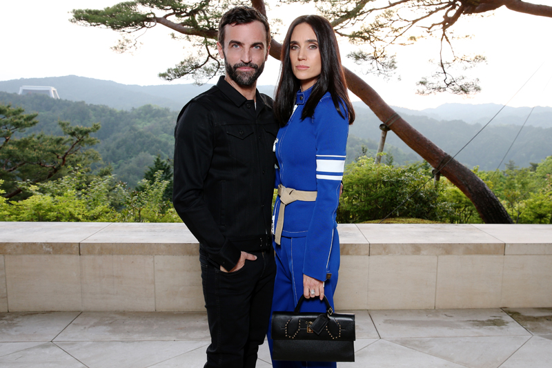Nicolas Ghesquière et Jennifer Connelly
