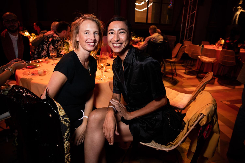 Camille Henrot et Latifa Echakhch