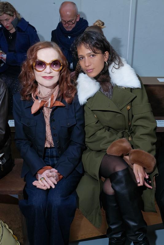 Isabelle Huppert et Mati Diop