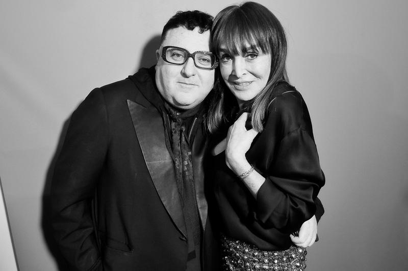 Alber Elbaz et Babeth DJian