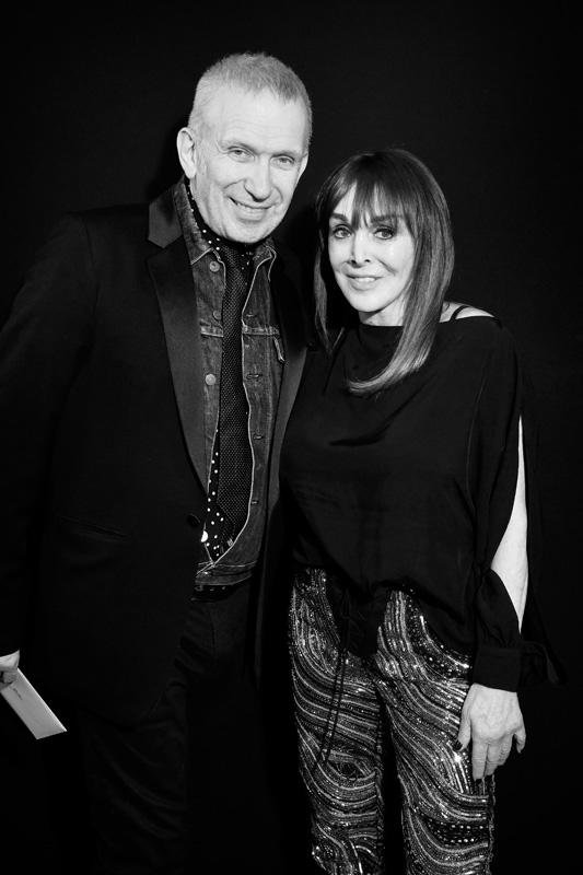 Jean Paul Gaultier et Babeth Djian