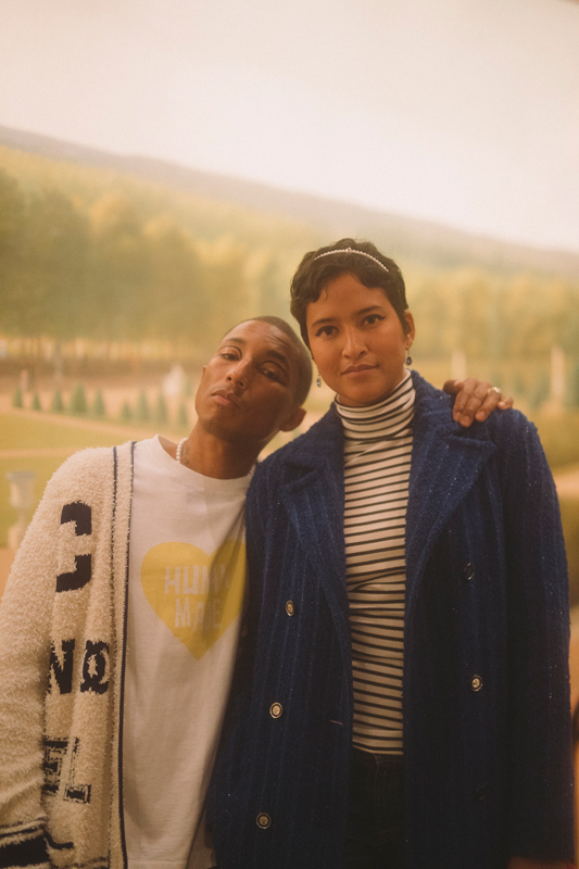 Pharrell et Helen Williams