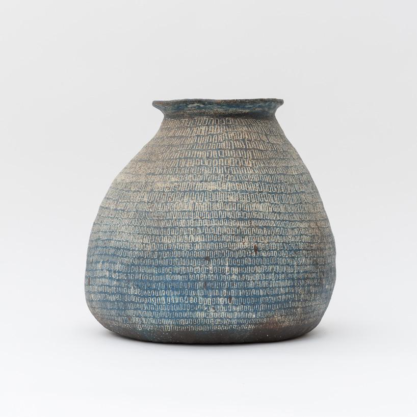 Kazunori Hamana, Jar, 2015. 39 × 35 × 14.5 cm
