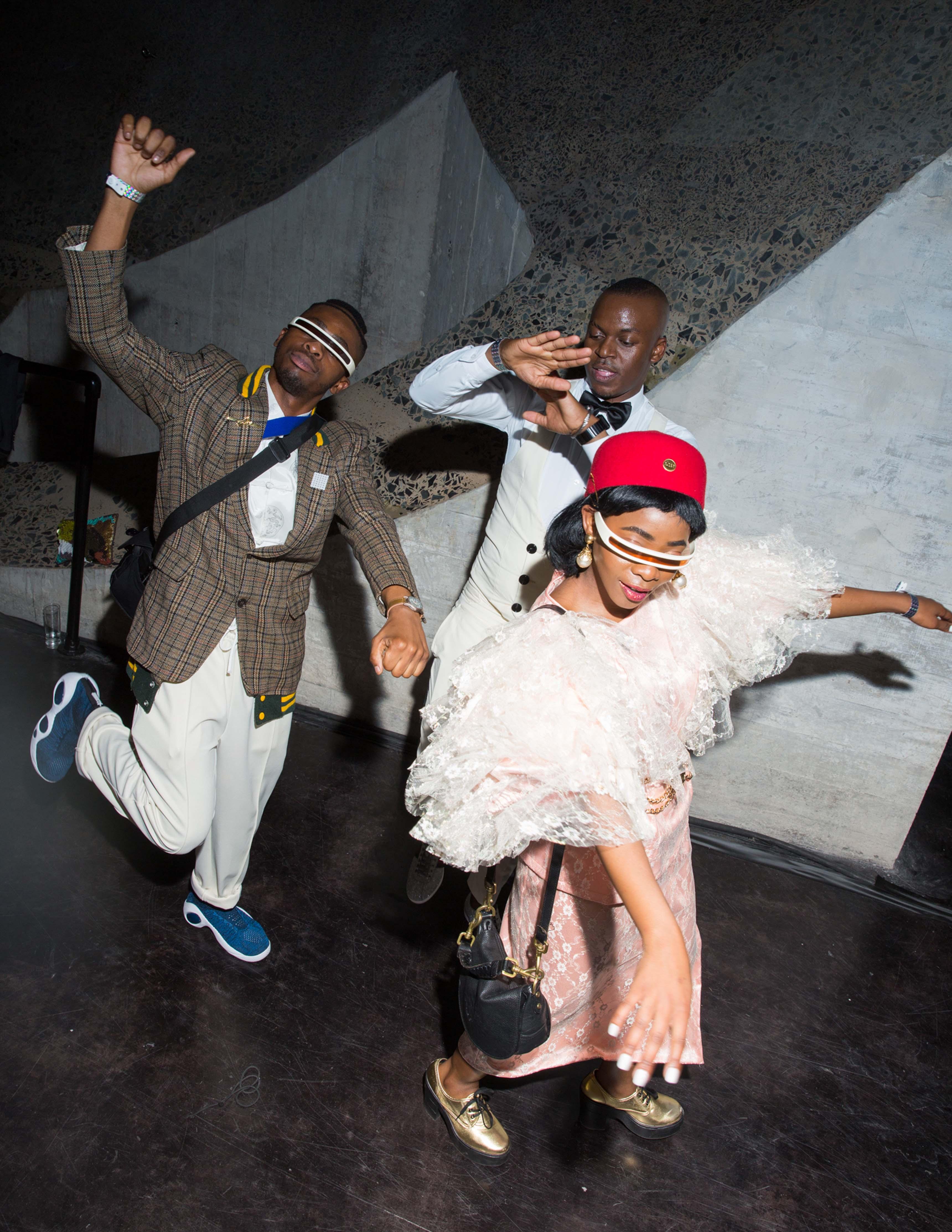 Kay Kay Ribane, Cedric Nkolele, Tebogo Ribane