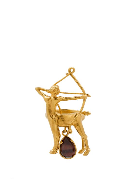 SAGITTAIRE (22 novembre-21 décembre) : Orange • Œil de taureau