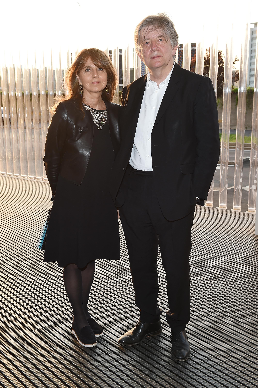 Sarah Miller et Deyan Sudjic à l'inauguration de la Torre à la Fondazione Prada le 18 avril 2018 à Milan, Italie. (Photo by Stefania M. D'Alessandro/Getty Images for Fondazione Prada)