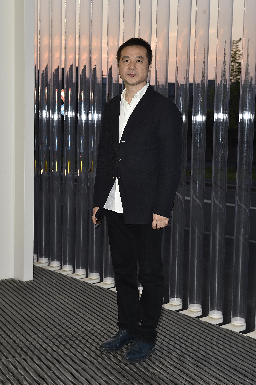 Quiao Zhibing à l'inauguration de la Torre à la Fondazione Prada le 18 avril 2018 à Milan, Italie. (Photo by Pietro D'Aprano/Getty Images for Fondazione Prada)
