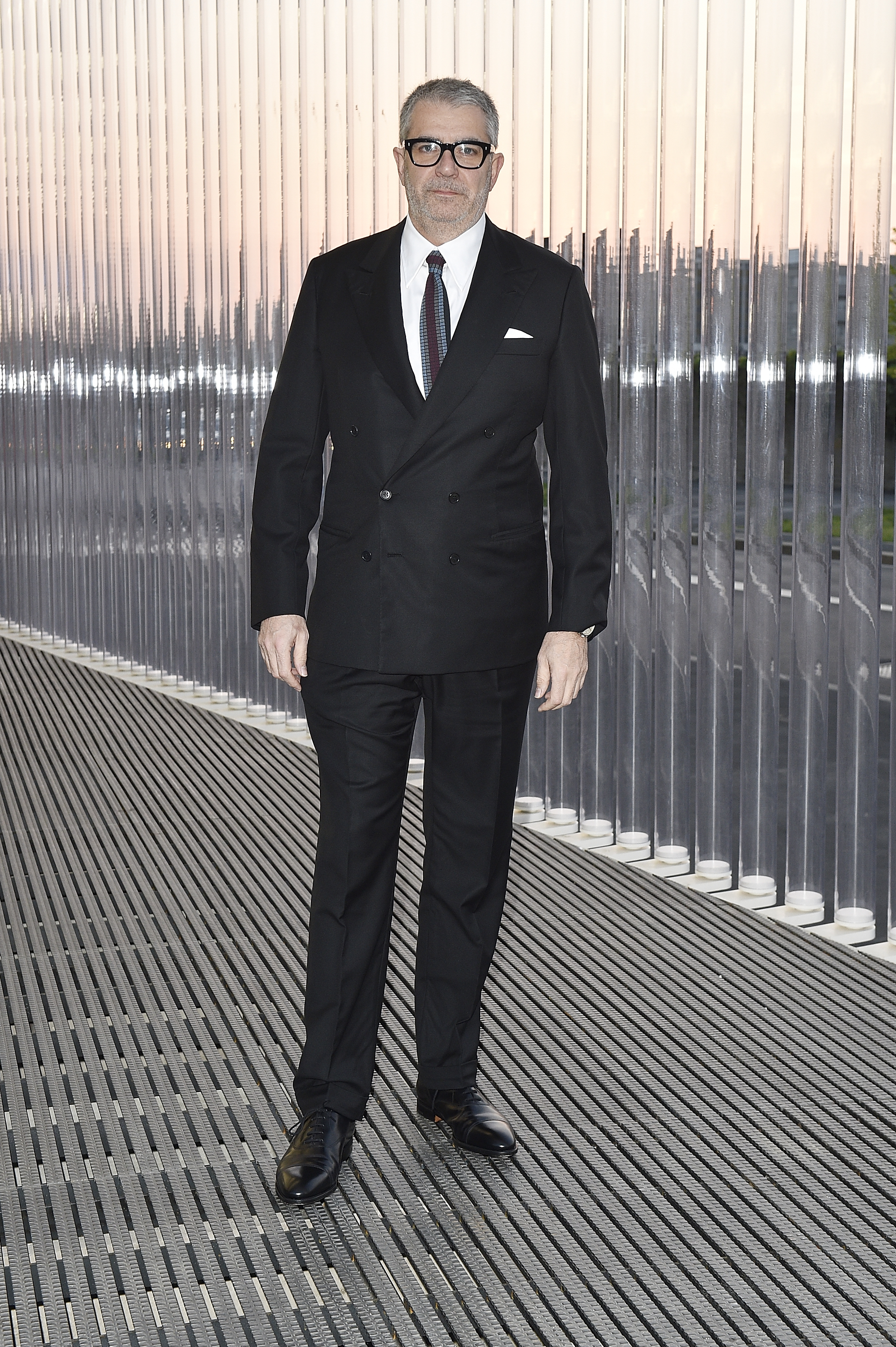 Gio Marconi à l'inauguration de la Torre à la Fondazione Prada le 18 avril 2018 à Milan, Italie. (Photo by Pietro D'Aprano/Getty Images for Fondazione Prada)