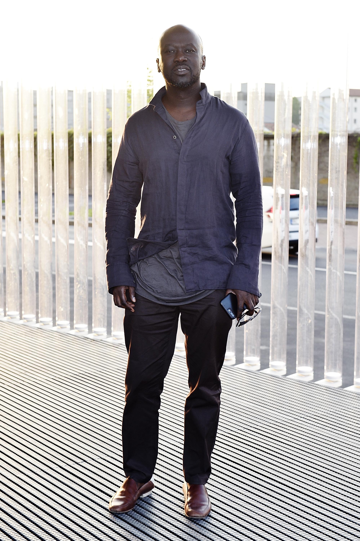 David Adjaye à l'inauguration de la Torre à la Fondazione Prada le 18 avril 2018 à Milan, Italie. (Photo by Pietro D'Aprano/Getty Images for Fondazione Prada)